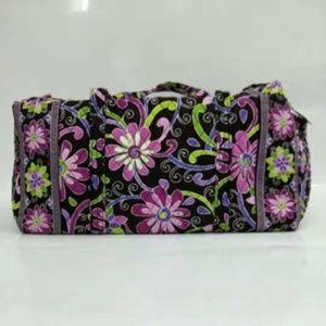 NWT Vera Bradley large duffel Bag Purple Punch